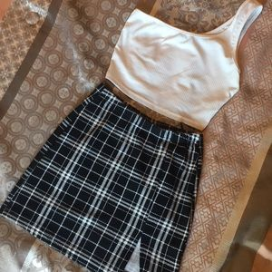 Shein skirt and top set